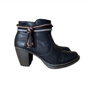 Rieker heeled booties